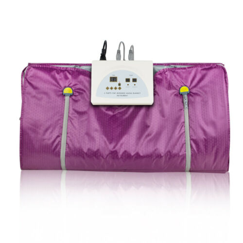 USA Digital Controller Far Infrared Sauna Blanket Slimm Weight Detox Spa Fitness 3