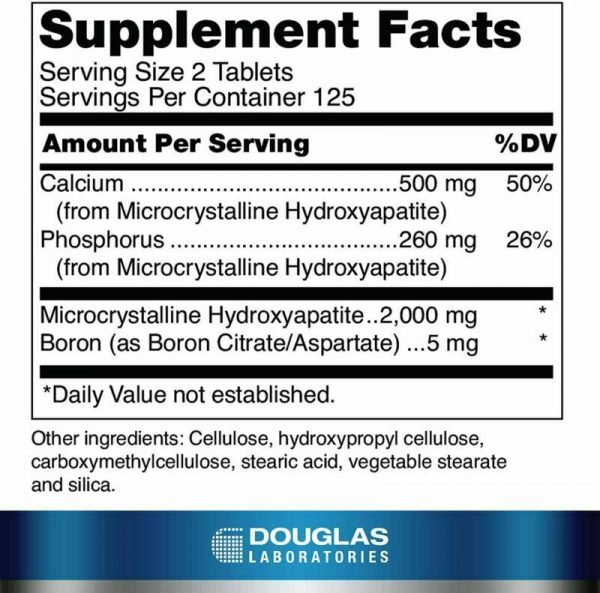 Douglas Laboratories - Calcium Microcrystalline Hydroxyapatite -...  1