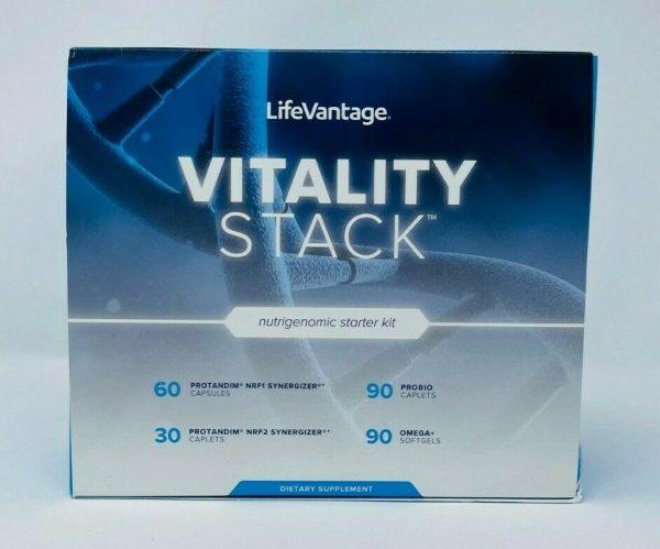LifeVantage Vitality Stack Pack PROTANDIM NRF1 NRF2 PHYSIQ ProBio OMEGA+