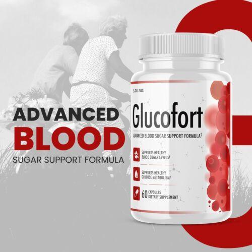 Glucofort Advanced All-Natural Blood Sugar Support Formula - 5 Pack 3