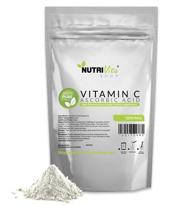 11 lb (5000g) NEW 100% L-Ascorbic Acid Vitamin C Powder NonGMO nonirradiated