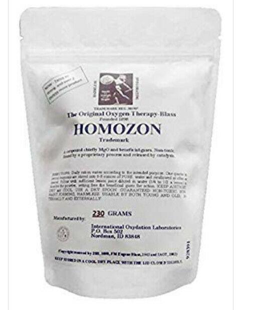 Homozon - The Original -Super Detox with Oxygen-Double Strength, Fresh 230 grams 1