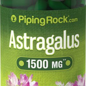 Piping Rock Astragalus Root 1500 mg 90 Quick Release Capsules (free ship)