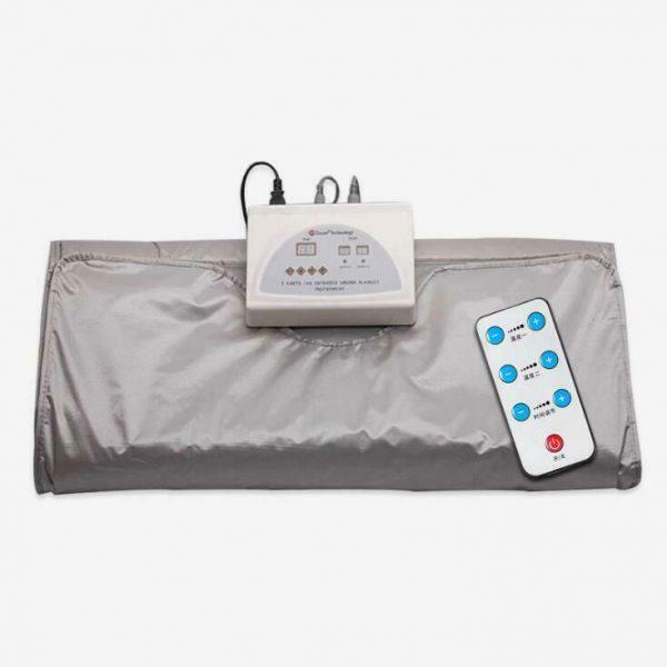 Far Infrared Sauna Blanket 2 Zone Slimming Weight Digital Controller Spa Beauty 6