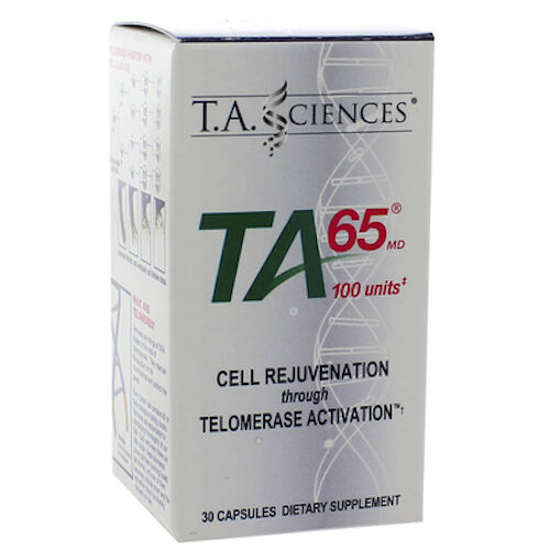 T.A. Sciences TA-65 MD Telomerase Activation Cell Rejuvenation 100 Units 30 Caps