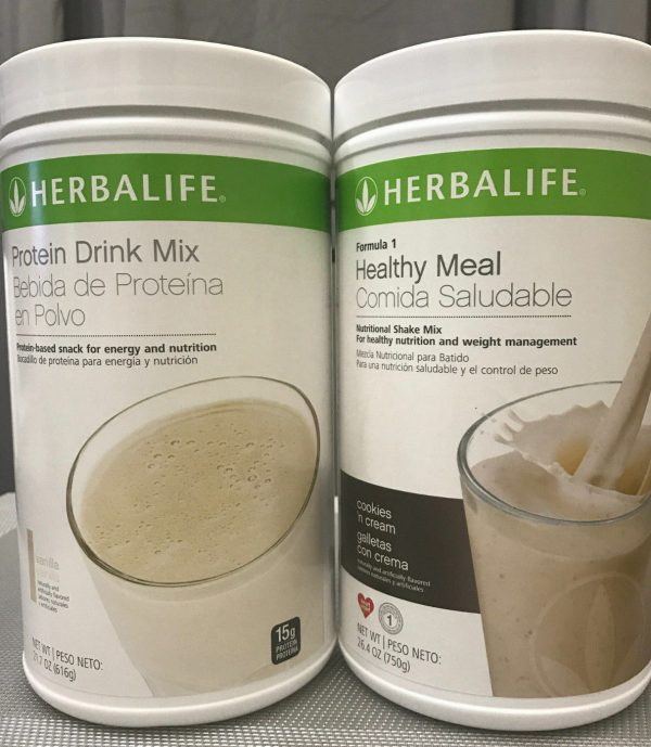 NEW HERBALIFE FORMULA 1 HEALTHY MEAL SHAKE AND PROTEIN DRINK MIX (MULTI FLAVORS) 1