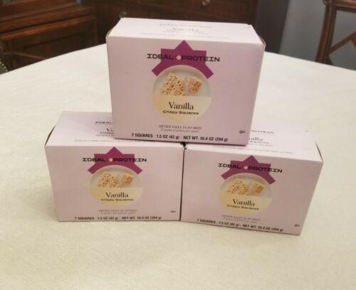 Ideal Protein's Vanilla Crispy Square3 boxes