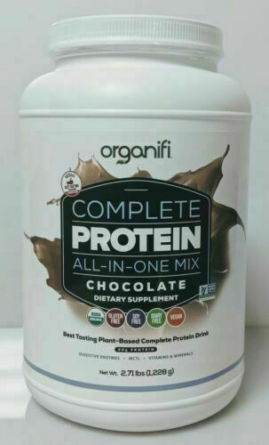 Organifi COMPLETE PROTEIN All in One Shake CHOCOLATE Brand Fresh & New/Sealed 1