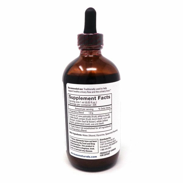 Strauss Prostate Support Drops Spearmint Flavor - 7.6 Ounces 1