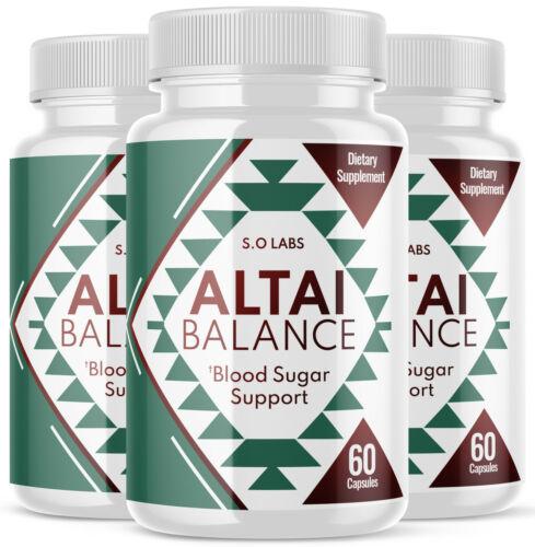 Altai Balance All-Natural Blood Sugar Support Formula - 3 Pack