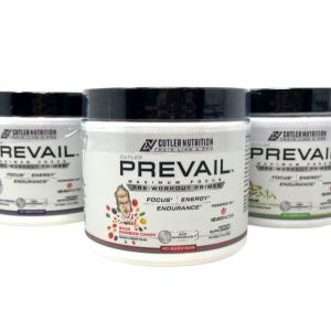 Cutler Nutrition PREVAIL 40SRV Nootropics Pre-Workout Focus Energy +FREE SAMPLES
