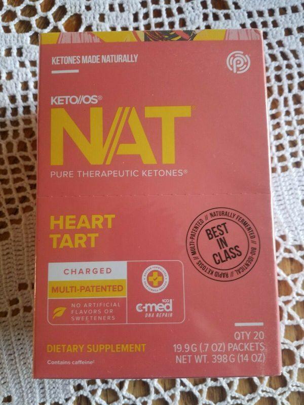 Pruvit Keto OS Nat Heart Tart- 20 pack*** SALE***