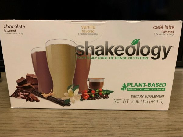 Shakeology Plant Based Vegan 24 Packets Chocolate,Vanilla and Café Latte SEALED