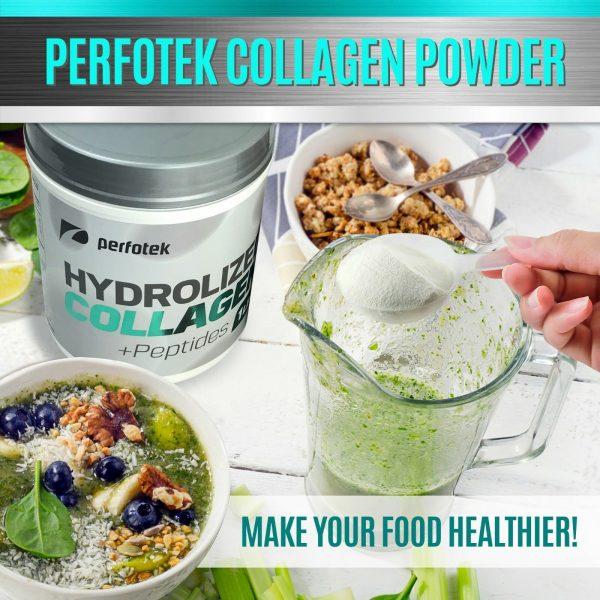 Collagen Powder Premium Peptides Hydrolyzed Anti-Aging Organic Protein 4x 1LB 2