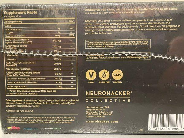 Qualia Nootropic Energy Shot - 20 Pack 2