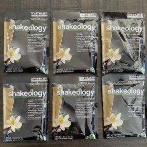 *Exp 12/2020* 6 Single Packets Shakeology Vanilla Protein Shake Powder