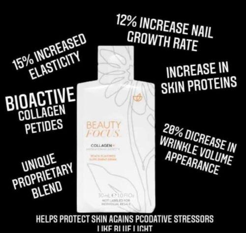 NUSKIN 30 Day pack Liquid collagen peach nectar 1