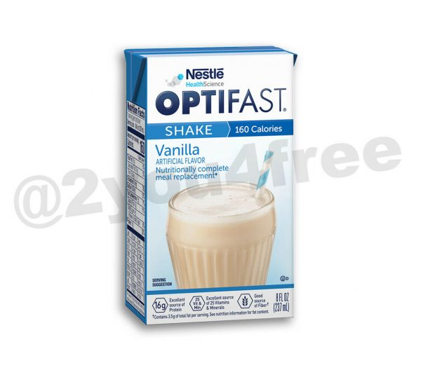 OPTIFAST® 800 READY TO DRINK SHAKES | CHOCOLATE VANILLA or STRAWBERRY TWIST CAP 1