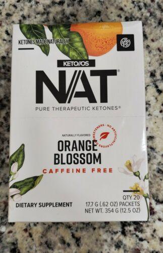 Pruvit Keto OS NAT Orange Blossom Caffeine Free unopened box