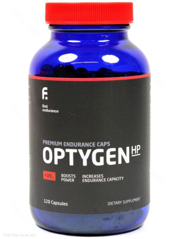 First Endurance Optygen HP High Performance Supplement 120-Capsules Increase VO2