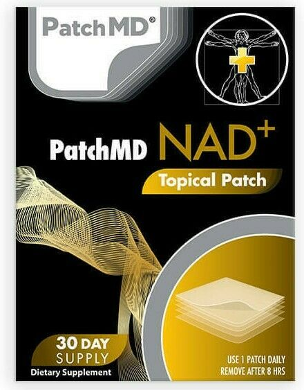 PatchMD NAD + Plus - Total Recovery - Topical Patch 30-patches Patch MD Ex. 2022 1