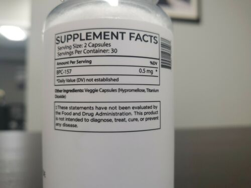BioTE Medical - BPC 157 - Clinical Grade - Healing and Recovery Peptide 60 Cap 1