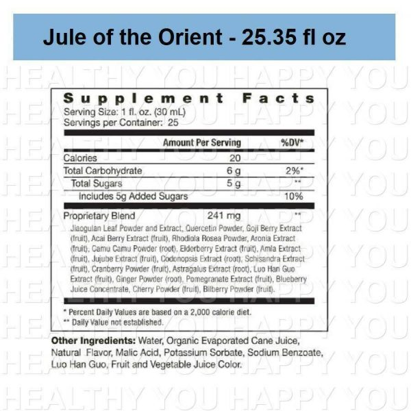 Jule of the Orient - 25.35 fl oz (4 PACK) Youngevity 1