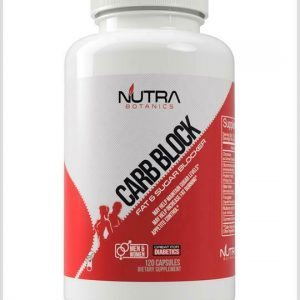 (12) BOTTLES Nutra Botanics Carb block Fat Blocker Supplement 10/21 Diabetics