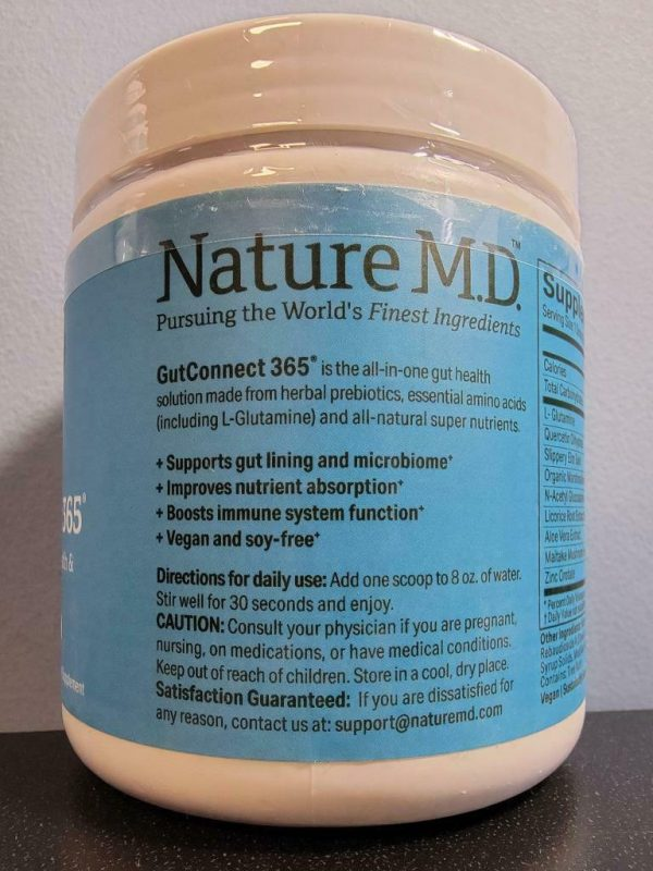 Chocolate Coconut - Nature M.D. GutConnect 365 9.9 oz - New / Sealed! Exp 2/2023 1