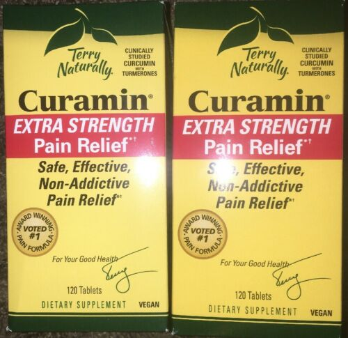 Curamin Extra Strength 120ct Lot Of 2! 240 Tablets