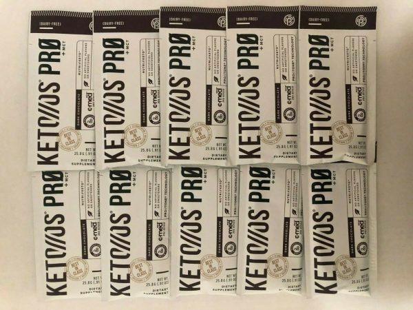 Pruvit Keto OS Pro+MCT Dark Chocolate 5,10& 20 Pack (No Box)FREEShipping 09/2021 1