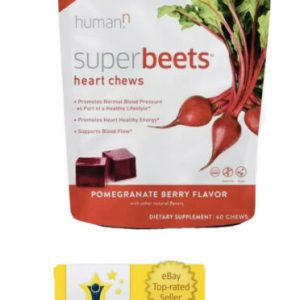 *Amazing!* HumanN SuperBeets Heart Chews,Soft Chews,Grape Seed Extract