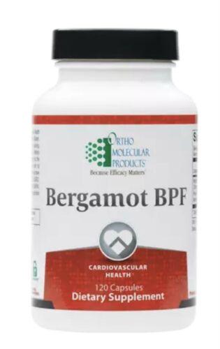 Ortho Molecular Bergamot BPF 120 Capsules Exp. 4/23 FRESHEST & FAST