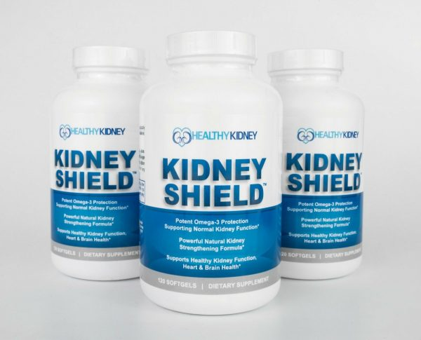 Kidney Shield Supplement Function Creatinine Cleanse Renal Health Function 3pack