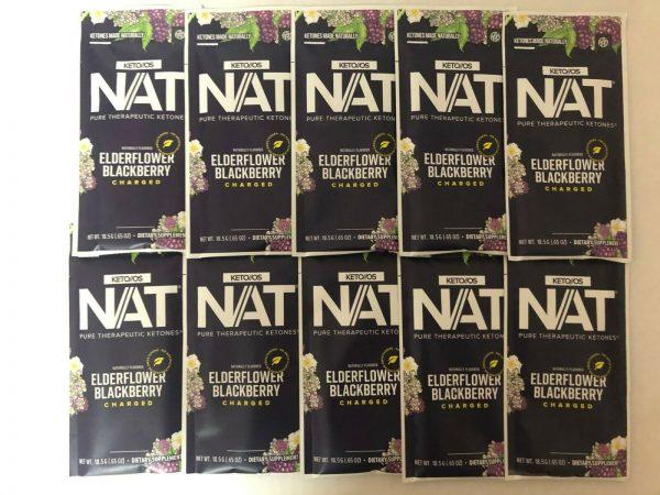 Pruvit KETO OS NAT Elderflower Blackberry Charged 5,10 & 20 Packets FreeShipping 1