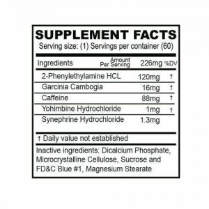 Phent37 (60 TABLETS) Fat Burner Appetite Suppressant 37.5 weight loss diet pills 1