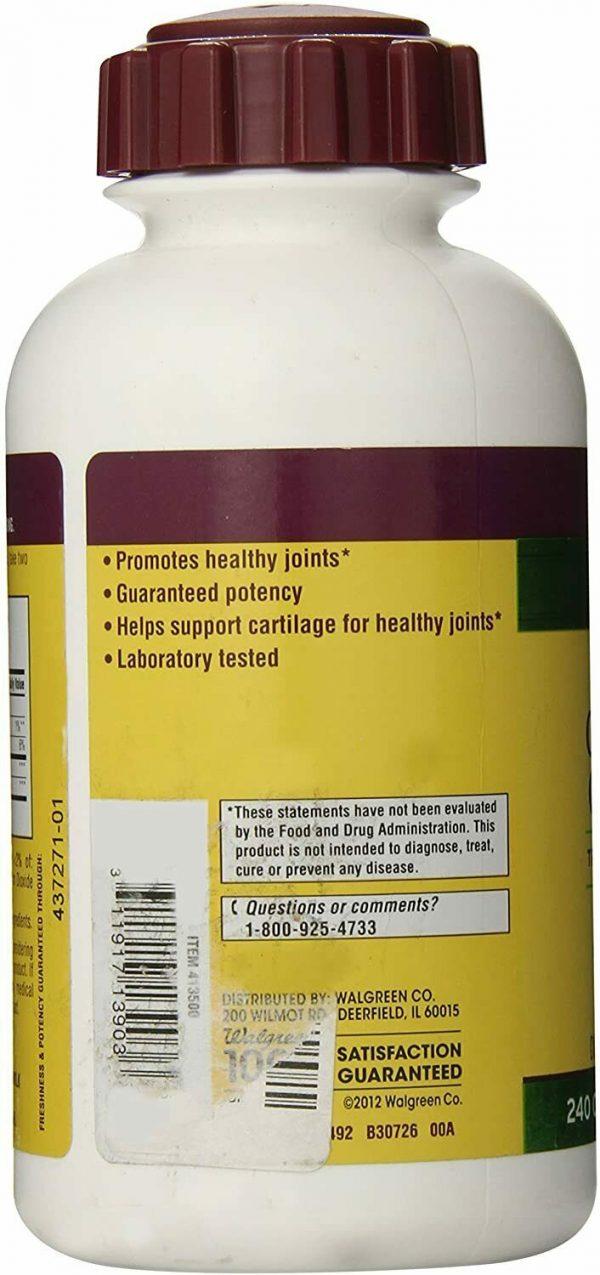 Glucosamine Chondroitin Triple Strength 240 Caplets (Joint Health)  1