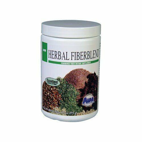 AIM Herbal Fiberblend Unflavored Powder, 13 Oz (375 g) - 2 Pack 2