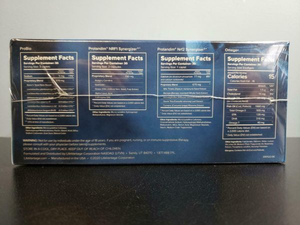 LifeVantage Vitality Stack Starter Kit - Protandim Nrf1, NRF2, Probio, Omega+ 1