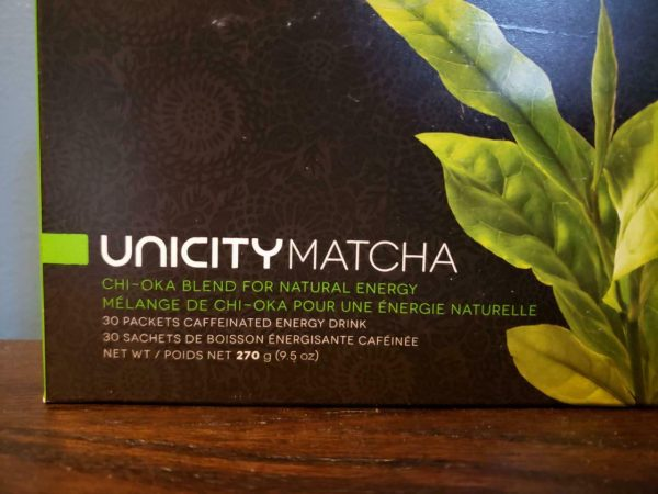 Unicity Matcha Chi-Oka Blend for Natural Energy 30 Packets - New! Exp 10/2021 1