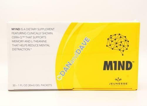Jeunesse M1ND Dietary Brain Supplement - 30 Gel Packets