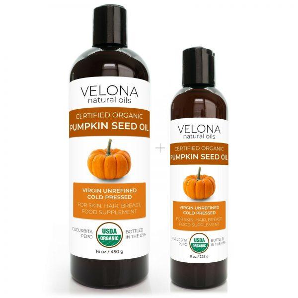 Velona Pumpkin Seed Oil USDA Certified Organic 2oz-7lb Virgin Unrefined Cooking  6