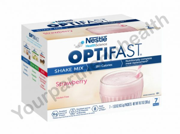 OPTIFAST 800 POWDER SHAKE | 6 BOXES | STRAWBERRY | 42 SERVINGS FRESH & NEW