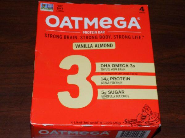 84 OatMega Protein Bars 3 Flavors Vanilla Almond, Choc Mint & Choc Peanut 09/21+ 2