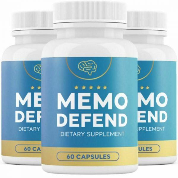 3 Bottles Memo Defend 60 Capsules