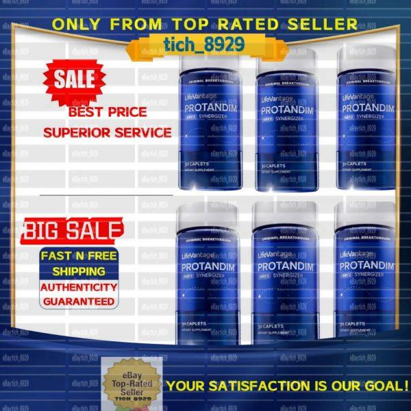 Life Vantage LifeVantage Protandim NRF2 Synergizer 6 bottles- EXP 2023/2024