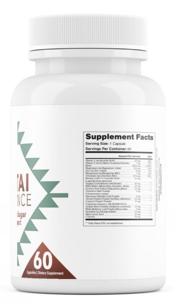 2 Bottles Altai Balance Supports Blood Sugar, Glucose Metabolism 60 Capsules 1