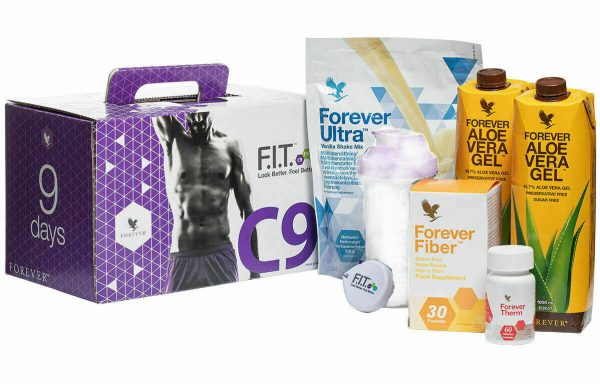 Clean 9 Forever Living 9 Day Detox & Weight Loss Vanilla