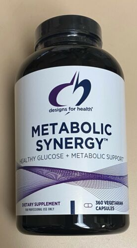 Designs For Health Metabolic Synergy 360 Capsules Exp. 10/22 FRESHEST! FAST SHIP
