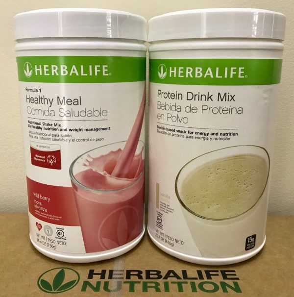 NEW HERBALIFE FORMULA 1 HEALTHY MEAL SHAKE AND PROTEIN DRINK MIX (MULTI FLAVORS) 2